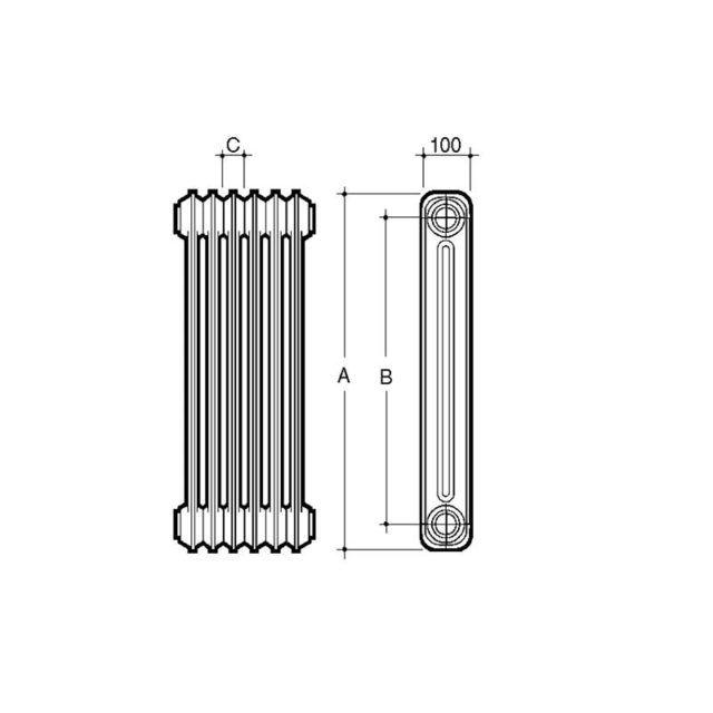 esquema-radiador-2-columnas-acero-ecobioebro