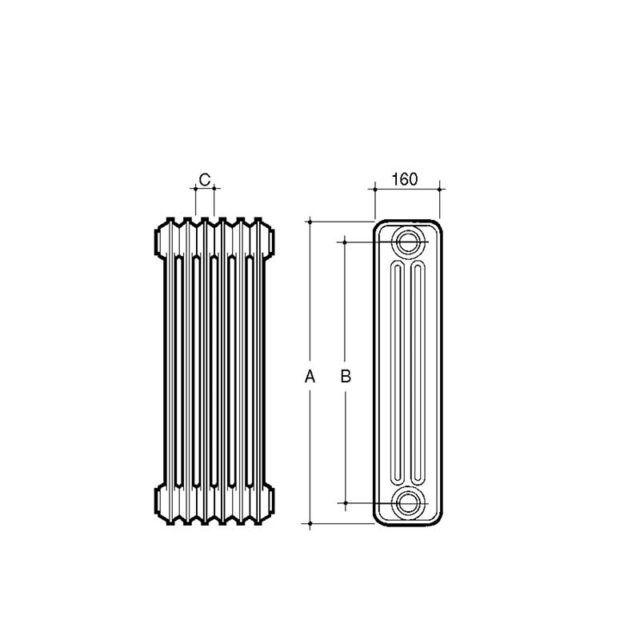 esquema-radiador-acero-3-columnas-ecobioebro