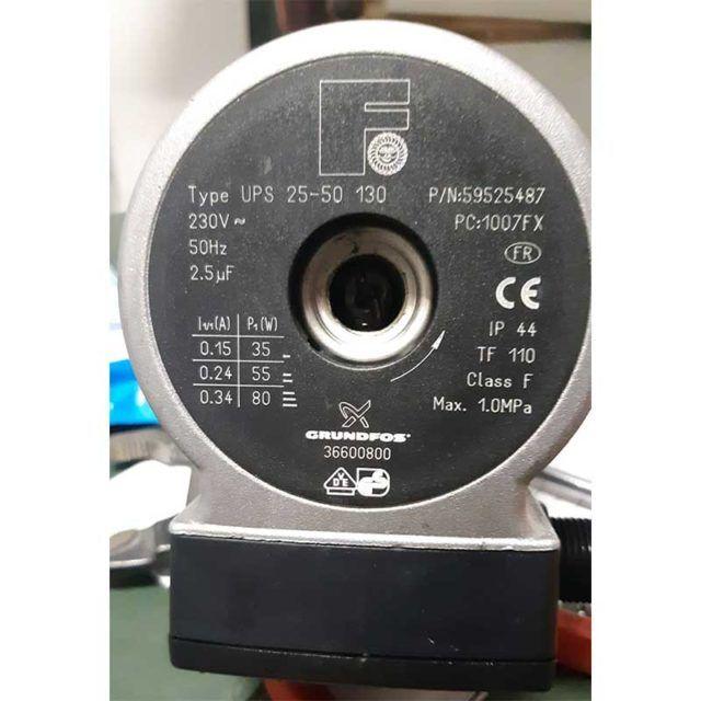 BOMBA-GRUNDFOS-2550-130 FERROLI ECOBIOEBRO