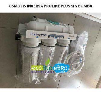 OSMOSIS INVERSA PROLINE PLUS SIN BOMBA ECOBIOEBRO