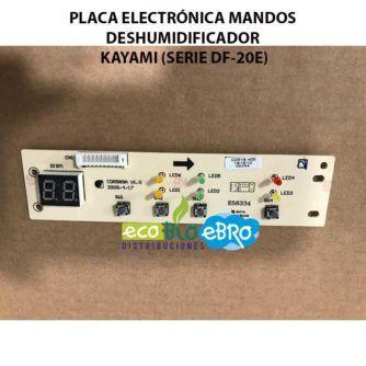 PLACA-ELECTRÓNICA-MANDOS-DESHUMIDIFICADOR-KAYAMI-(SERIE-DF-20E)-ecobioebro