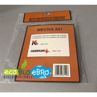 BLISTER MECHA LARGA DURACIÓN KERO 241 (Estufas queroseno) ecobioebro
