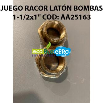 JUEGO RÁCORES PARA BOMBAS 1-1-2x1'-COD--AA25163 ecobioebro