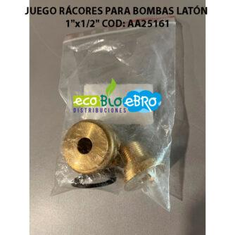 JUEGO RÁCORES PARA BOMBAS 1'x1-2'-COD--AA25161 ecobioebro