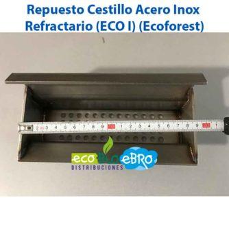Repuesto Cestillo Acero Inox Refractario (ECO I) (Ecoforest) ecobioebro