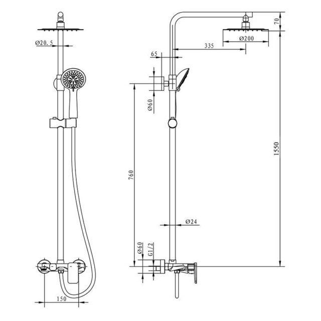 esquema-columna-Dual-Round-Plus-ecobioebro