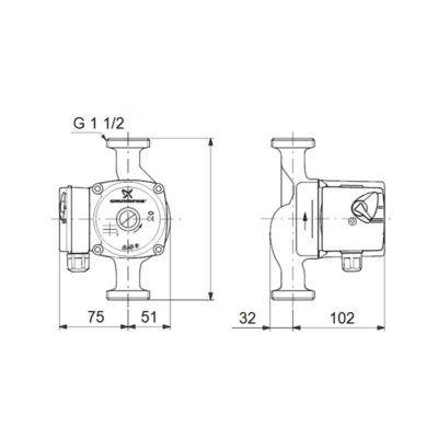 esquema-bomba-UPS-2550-130-grundfos-ecobioebro