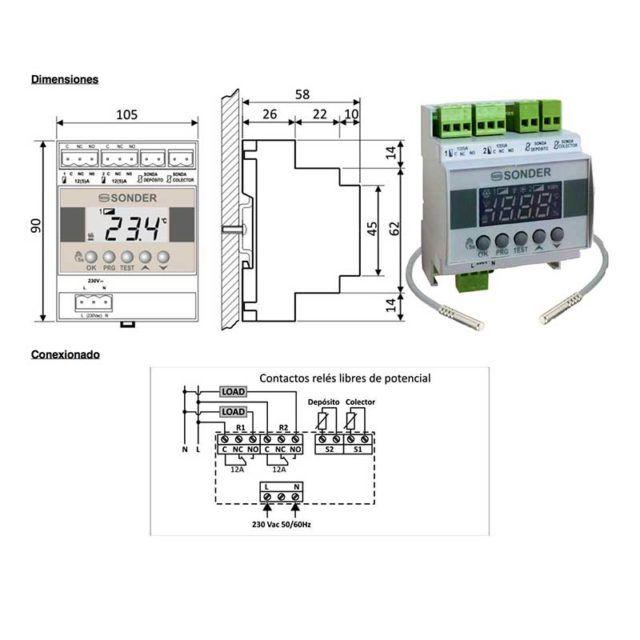 dimensiones-control-solar-allegro-400-rail-ecobioebro
