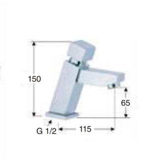 dimensiones-grifo-temporizado-gaudi-ecobioebro