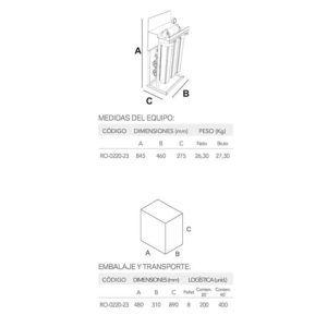 ÓSMOSIS INVERSA DE FLUJO DIRECTO (XENA 20.1)