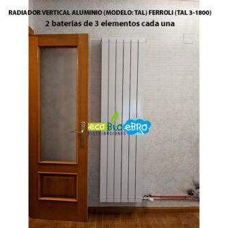 RADIADOR-VERTICAL-ALUMINIO-(MODELO--TAL)-FERROLI-(TAL-3-1800)-ecobioebro