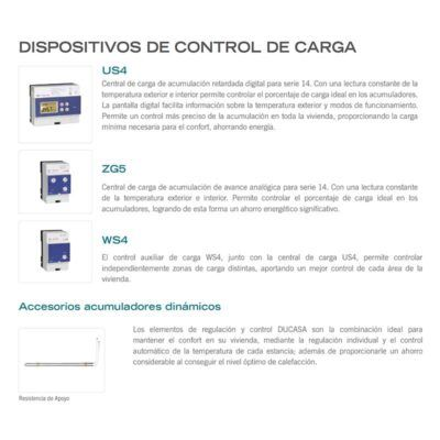 ACUMULADOR DE CALOR DINÁMICO DUCASA