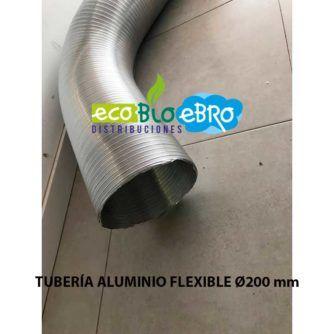 TUBERÍA-ALUMINIO-FLEXIBLE-DIAMETRO-200-ECOBIOEBRO