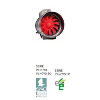 Ventilador en línea helicocentrífugo IN-NOVO