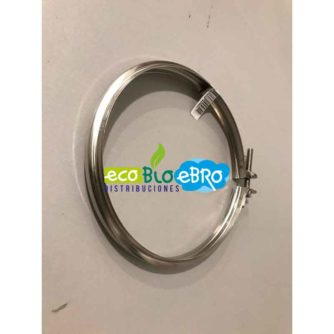 Abrazadera-de-unión-Ø80-mm-DIFLUX-INOx-ecobioebro
