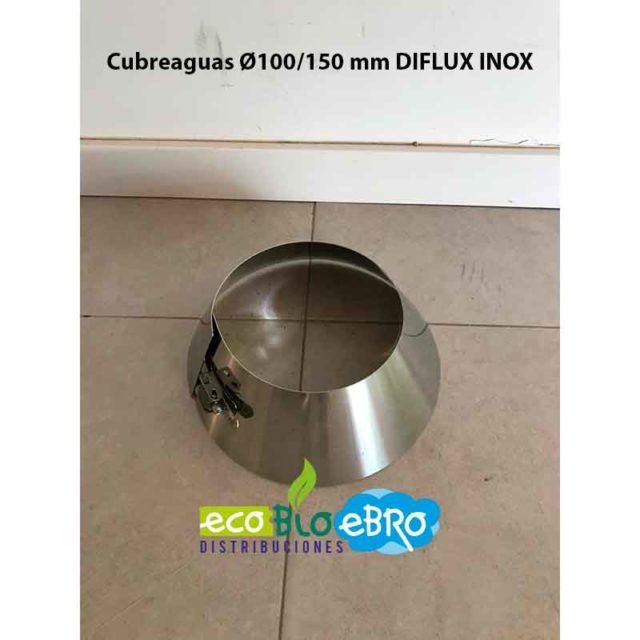 Cubreaguas Ø100:150 mm DIFLUX INOX ECOBIOEBRO
