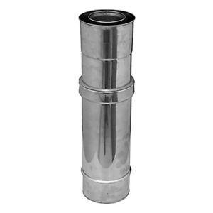 Módulo-extensible-corto-L=325-530-mm-Ø80-mm-DIFLUX-INOX-ecobioebro