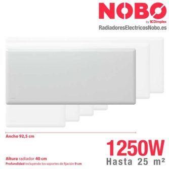 Radiadores-electricos-noruego-Nobo-dimensiones-1250W-ecobioebro