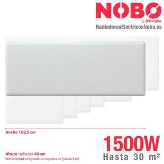 Radiadores-electricos-noruego-Nobo-dimensiones-1500W-ecobioebro