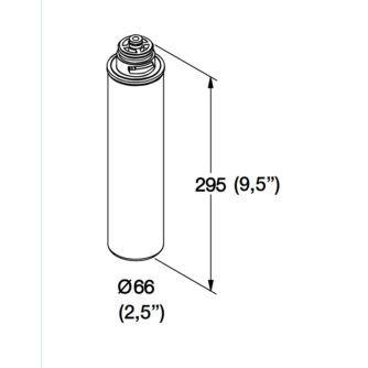dimensiones-CARTUCHO-BAYONETA-POLIFOSFATOS-GAC-FOS-(FT2-90)-ECOBIOEBRO