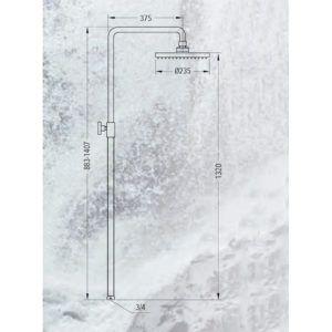 dimensiones-COLUMNA-MONOMANDO-BAÑO-DUCHA-AÍNSA-ecobioebro