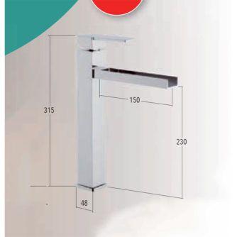 dimensiones-MONOMANDO-LAVABO-ALTO-CASCADA-CROMO-SERIE-TIZZIANO-ecobioebro