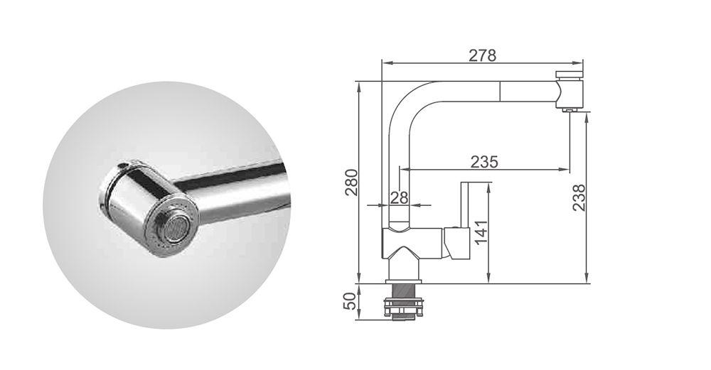 dimensiones-grifo-cocina-vertical-extraible-ecobioebro