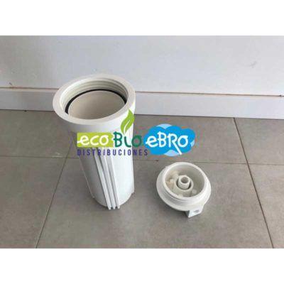 PORTACARTUCHOS-FILTROS-10'-CON-TAPA-ECOBIOEBRO