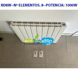 RD8W--Nº-ELEMENTOS. 8--POTENCIA- 1000W ecobioebro