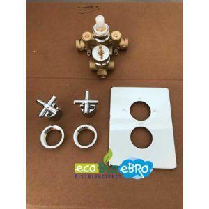 Despiece-Mezclador-termostático-ducha-Jalón-cromo-de-empotrar-(3-VÍAS)-ecobioebro