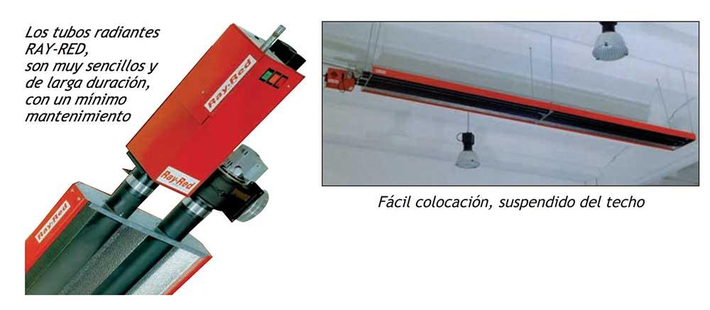 Instalacion-Tubo-radiante-a-gas-RAY-RED-ECOBIOEBRO