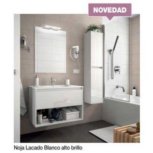 Mueble-de-baño-Noja-600-(cajón-hueco)-blanco-ecobioebro