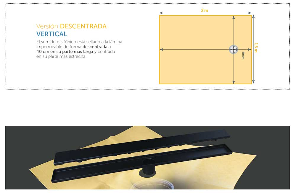 Versión-DESCENTRADA-VERTICAL-DRY-50-LINEAL-SLIM-NEGRO-