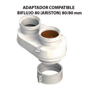 ADAPTADOR-COMPATIBLE--BIFLUJO-80-(ARISTON)-ecobioebro