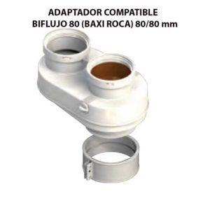 ADAPTADOR-COMPATIBLE--BIFLUJO-80-(BAXI-ROCA)-ecobioebro