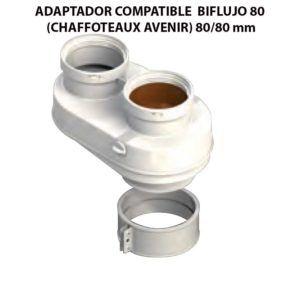 ADAPTADOR-COMPATIBLE--BIFLUJO-80-(CHAFFOTEAUX-AVENIR)-ecobioebro