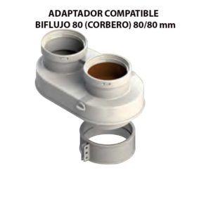 ADAPTADOR-COMPATIBLE--BIFLUJO-80-(CORBERO)-ecobioebro