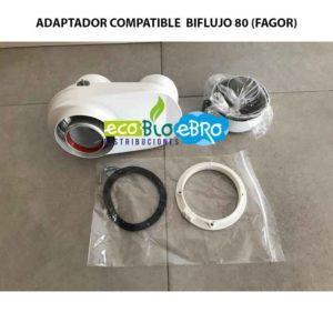 ADAPTADOR COMPATIBLE BIFLUJO 80 (FAGOR) ecobioebro