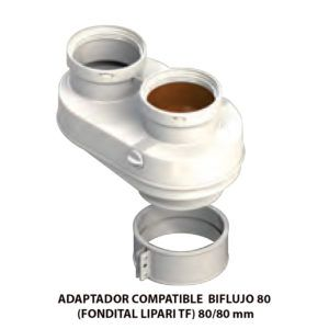 ADAPTADOR-COMPATIBLE--BIFLUJO-80-(FONDITAL-LIPARI-TF)-ECOBIOEBRO