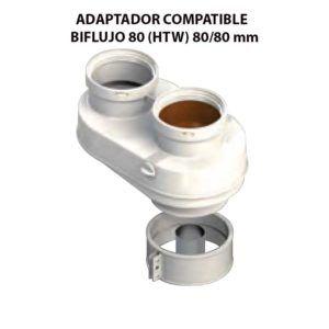 ADAPTADOR-COMPATIBLE--BIFLUJO-80-(HTW)-ecobioebro