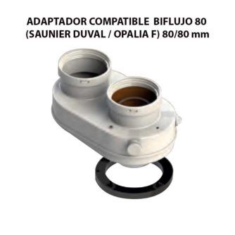 ADAPTADOR-COMPATIBLE--BIFLUJO-80-(SAUNIER-DUVAL--OPALIA-F)-ecobioebro