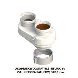 ADAPTADOR-COMPATIBLE--BIFLUJO-80-(SAUNIER-OPALIATHERM)-ecobioebro