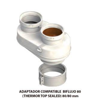 ADAPTADOR-COMPATIBLE--BIFLUJO-80-(THERMOR-TOP-SEALED)-ecobioebro