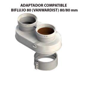 ADAPTADOR-COMPATIBLE--BIFLUJO-80-(VANWARDIST)-ecobioebro