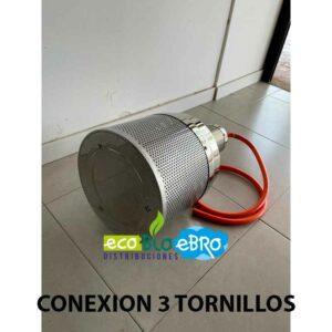 CONEXION-QUEMADOR-COMPLETO-ESTUFA-EXTERIOR-HSS-(tipo-seta)-inox-ecobioebro