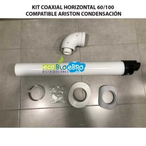 KIT-COAXIAL-HORIZONTAL-60100-COMPATIBLE-ARISTON-CONDENSACION-ECOBIOEBRO