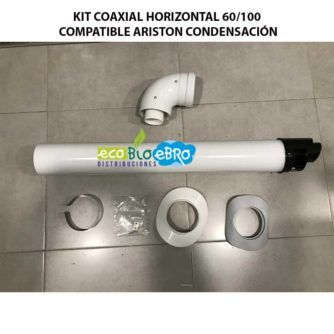 KIT-COAXIAL-HORIZONTAL-60100-COMPATIBLE-ARISTON-CONDENSACION-ECOBIOEBRO