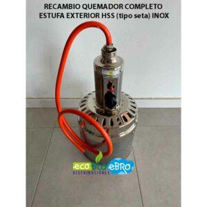 RECAMBIO-QUEMADOR-COMPLETO-ESTUFA-EXTERIOR-HSS-(tipo-seta)-inox-ecobioebro
