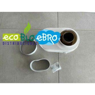 VISTA INFERIOR ADAPTADOR-COMPATIBLE-BIFLUJO-80-(ARISTON)-ecobioebro