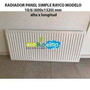 RADIADOR-PANEL-SIMPLE-RAYCO-MODELO-106-(600x1320)-mm-ecobioebro